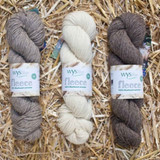 WYS Bluefaced Leicester DK Weight Yarn 100g Hanks | Various Shades