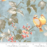 Song Birds in Flowering Tree, Dewdrop from the Daybreak collection by 3 Sisters