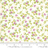 Balboa | Sherri & Chelsi | Moda Fabrics | 37593-11 Ivory Flowers & Sprigs