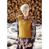 Rowan Longdendale Womens Vest Knitting Pattern using Alpaca Merino DK | Digital Download (ZB179-00005) - Main Image