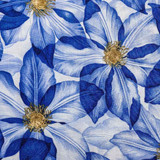 Summers Day | Fabric Freedom | F902-2 | Clematis Blue