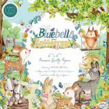 "Craft Consortium | Helz Cuppleditch | Bluebells and Buttercups | Premium Paper Pad | 6"" x 6"" - Main Image"