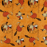 Goose Tales | Riley Blake | EQS Fabrics | There was an Old Woman - Orange | RBC9396ORANGE