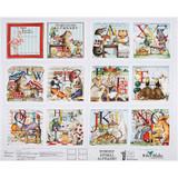 Hungry Animal Alphabet | Riley Blake | EQS Fabrics | Hungry Animal Alphabet Soft Book Panel | RBP10189PANEL