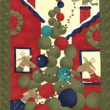 Reindeer Games Christmas Panel   Sandy Gervais   Moda Fabrics   17600   61.5 x 112cm Panel (Rough Cut)