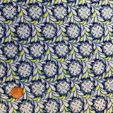 Decorative Florals   Winbourne Fabrics   509-05   Half Metre Units - Please see penny for size reference
