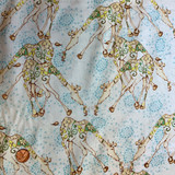 Riddle and Rhymes | Tina Givens | Free Spirit Fabrics | Dancing Giraffes | PWTG154-SANDX | HALF METRE UNITS - Please see penny for size reference
