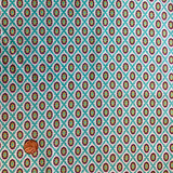 Love and Joy | Dena Designs | Freedom Fabric | Flower Dot Blue | PWDF159AQUAX | 1m REMNANT FABRIC