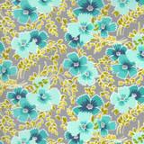 Flowers for Freya | Linzee McCray | Moda Fabrics | 23331-12 | Breezy Blooms, Foggy