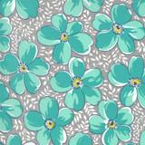 Flowers for Freya | Linzee McCray | Moda Fabrics | 23330-12 | Love Blossoms, Foggy