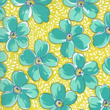 Flowers for Freya | Linzee McCray | Moda Fabrics | 23330-16 | Love Blossoms, Sprout