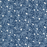 Flowers for Freya | Linzee McCray | Moda Fabrics | 23336-15 | Willow, Bluebird