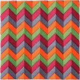 Bargello Tapestry Kit - Chevron | Anchor | Tina Francis Design - Main Image
