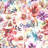 Sunshine Soul | Create Joy Project | Moda Fabrics | 8461-11 | Bloomination Watercolor, Warm Breeze