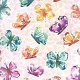 Sunshine Soul | Create Joy Project | Moda Fabrics | 8462-14 | All Aflutter Butterflies, Sunset