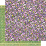 """Graphic 45   12"""" x 12"""" Papers   Fairie Dust Collection   Violet Vale"""