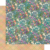 """Graphic 45   12"""" x 12"""" Papers   Fairie Dust Collection   Moonlit Blooms"""