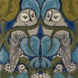 DMC V&A Tapestry Kit 35x35cm | Voysey the Owl - Main Image