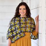 Janis Shawl Crochet Pattern   WYS Colour Lab DK WYS0008 - Main Image