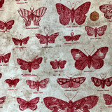 Butterflight | Tim Holtz | Eclectic Elements Fabrics | PWTH004 | Half Metre Units