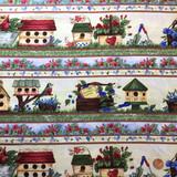 Cheep Housing | Diane Knott | Clothworks Fabrics | 10152-1 | Half Metre Units