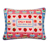 """Strawberry Cupcake Tapestry Kit 
