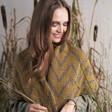 Wiske Wrap | Martin Storey | Rowan Moordale Yarn Pack with Pattern Book and Needles