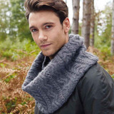 Curlew Snood by Martin Storey | Rowan Moordale Yarn Pack including Pattern Book and Needles