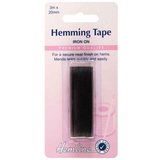 Hemline | Black Hemming Tape |  20mm x 3mtrs