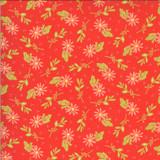 Happy Days | Sherri and Chelsi | Moda Fabrics | 37601-14 | Dainty Geranium