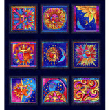 Celestial Magic | Laurel Burch | EQS Fabrics | CWY3159-93M | Panel