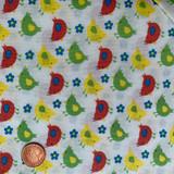 Farmyard Collection | Freedom Fabrics | Ditsy Chicks | FF102/2 | Half Metre Units