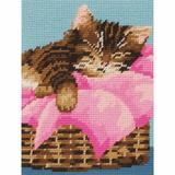 Anchor Tapestry Starter Kit | 18cm x 14cm | Kitten | MR945