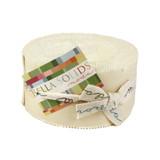Bella Solids | Moda Fabrics | MJR9900-12 Natural | Jelly Roll