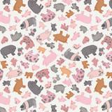 Piggy Tales | Lewis and Irene | A534.1 Piggies on Cream
