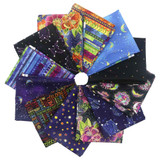 Celestial Magic | Laurel Burch | EQS Fabrics | CWY31 | Bundle | 12x Fat Quarters - Main Image