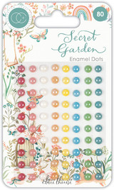 Secret Garden Adhesive Enamel Dots   Clare Therese Gray   Craft Consortium - Main image