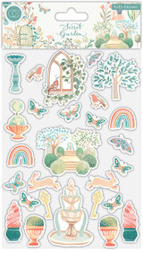 Secret Garden Puffy Stickers   Clare Therese Gray   Craft Consortium - Main image