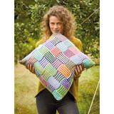 Rowan Jaunty Weave Cushion  Knitting Pattern using Felted Tweed | Digital Download (ZB279-00001) - Main Image