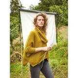 Rowan Scallop Cowl Womens Knitting Pattern using Felted Tweed | Digital Download (ZB279-00010) - Main Image