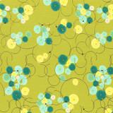 Dance in Paris   Zen Chic   Moda Fabrics   1741-13M Chartreuse