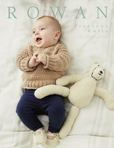 Rowan Precious Knits by Grace Jones | 12 Designs from 0 to 3 years - Book Cover
