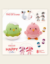 Sirdar Happy Cotton | Two of a Kind | Happy Cotton Book 3 | 8 Characters