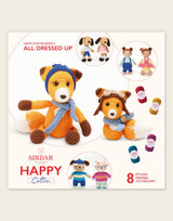 Sirdar Happy Cotton | All Dressed Up | Happy Cotton Book 5 | 8 Stylish Friends