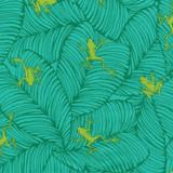 Jungle Paradise   Stacy lest Hsu   Moda Fabrics   20786-18 Peacock