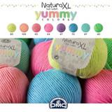 DMC Natura Cotton XL Yummy Chunky Crochet Cotton | 100g Balls | Various Colours