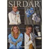 Gloves & Mittens Knitting Pattern | Sirdar Crofter DK & Snuggly Snowflake DK 7836 | Digital Download - Main Image