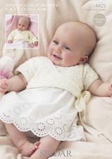 Babies / Childs Ballet Wrap DK Patterns | Snuggly Baby Cotton DK 4425