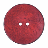 Large Red Coconut Buttons | 40mm (2B\2125)