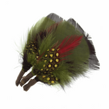 Assorted Bright Feathers | Short Plumes | Trimits | CB301X